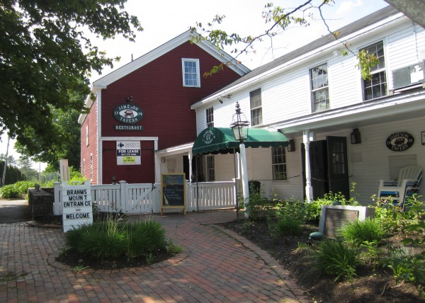 Tom Hincks of Yarmouth plans to reopen the historic Jameson Tavern by July 4th.