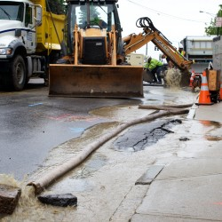 Congress Street water main break snarls Portland traffic