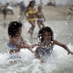Half the country wilts under unrelenting heat