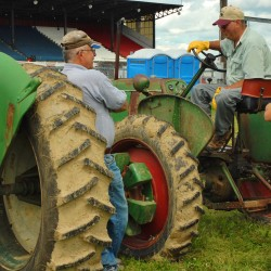 Northern Maine tractor club rolling old iron into Presque Isle