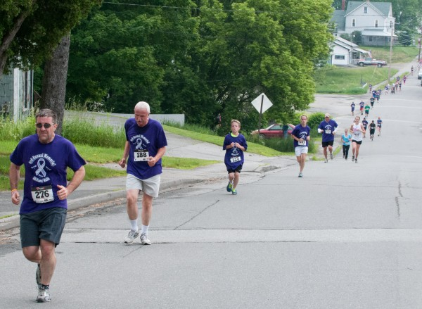 Runners participated in the third annual Amy, Coty, Monica Memorial 5K Race/Walk to End Domestic Violence in Dexter on Sunday.