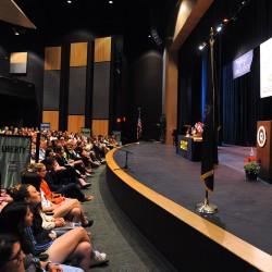 Legislator speaks to Girls State delegates