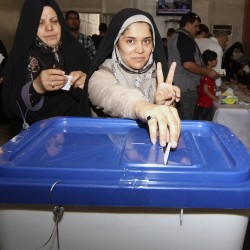 Ahmadinejad rivals cement lead in Iran elections