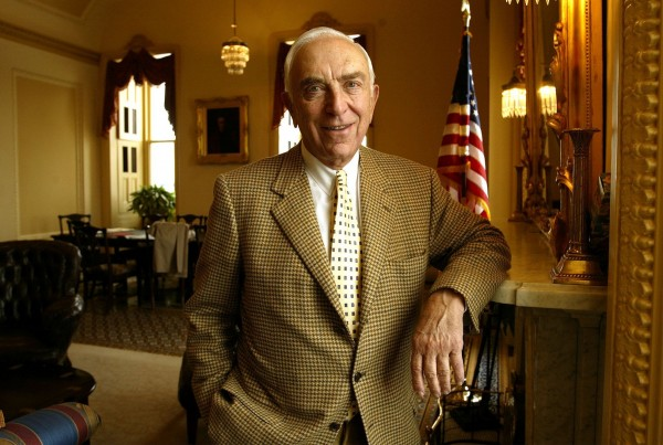 Sen. Frank Lautenberg (D-N.J.), photographed in the U.S. Capitol in 2002, died Monday, June 3. Lautenberg, the oldest member of the Senate, had struggled with health problems since late last year, causing him to miss several weeks of votes because of what he said was flu and bronchitis. He was 89.
