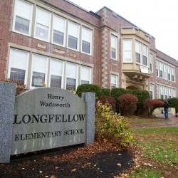 Longfellow Elementary School in Portland.