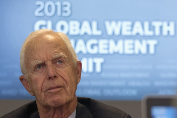 Arthur Levitt, former chairman of the United States Securities and Exchange Commission, takes part in the Reuters Global Wealth Management Summit in New York on June 5, 2013.
