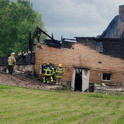 Fire that destroyed Grindstone cabin, possible hate crime still under investigation