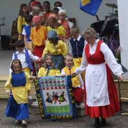 Valkommen: New Sweden revels in Midsommar