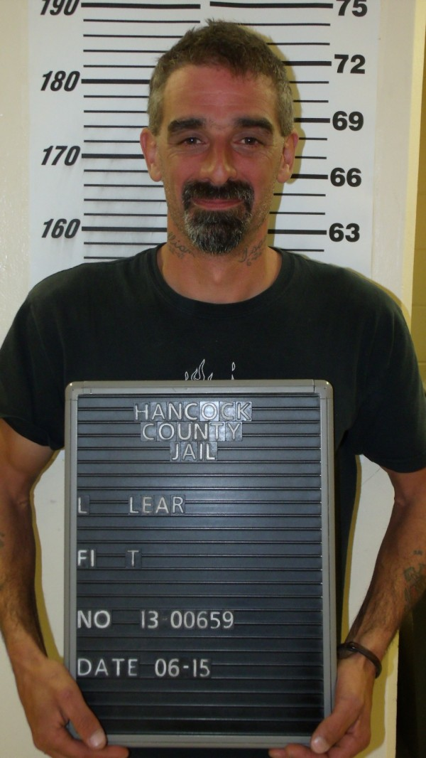 Todd B. Lear from his arrest in the early a.m. of June 15.