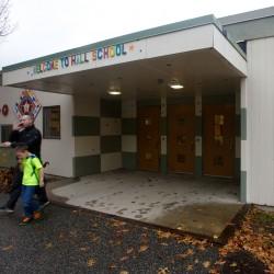Fred P. Hall Elementary School in Portland.