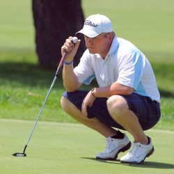 Jason Harvey wins his second Bangor Golf Classic title