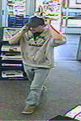 Bath police say this man is a suspect in a robbery of the Walgreens Pharmacy just before 2 p.m. Friday.