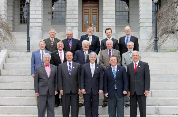 Maine GOP senators in the 126th Legislature.