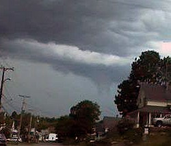 Rare Maine tornado touches down in Woolwich, first of 2012