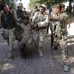 In Afghanistan or W. Virginia, outrageous is outrageous