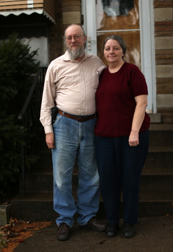 After struggling to keep up financially, Carl Hoppe was forced to leave his job as a minister and school administrator so he and his wife, Tamara, turned to food stamps to feed their family.