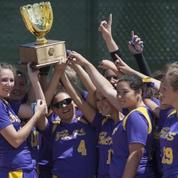 Freshman's simple hit helps Madison edge Calais in Class C state softball title game 1-0