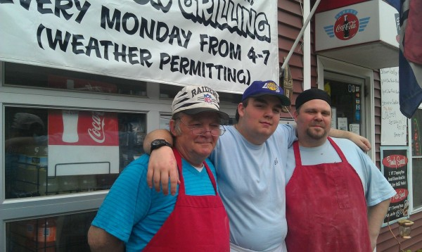 Three generations of Jewells, grandfather, father and son, own and operate Jewell's Pizza Oven on Ohio Street in Bangor. Gary Jewell, Sr., 64 (from left); grandson Gary Jewell, 17; and son Gary Jewell, Jr., 41, say they love the business and said they're blessed to work together, despite the differences of opinion that sometimes surface.