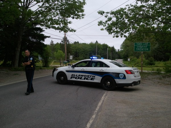 A situation in Trenton caused police to shut down Bayside Road.