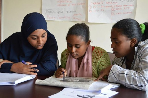 Some of Global Press Institute's journalists-in-training in Ethiopia.
