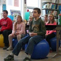Stability balls coming to Aroostook County classrooms