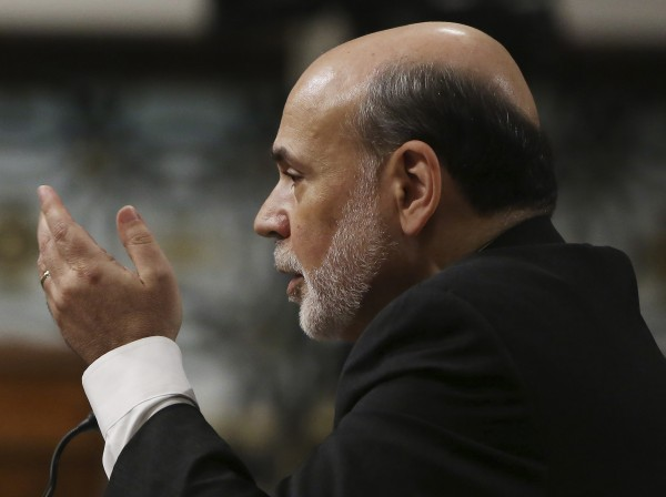Federal Reserve Board Chairman Ben Bernanke testifies before the Joint Economic Committee in Washington May 22, 2013.