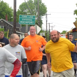 Special Olympics torch run covers 70 miles