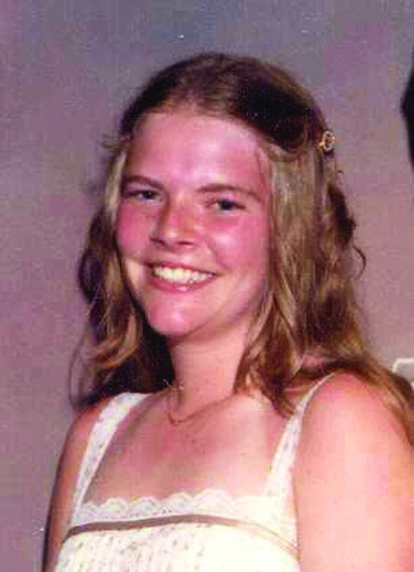 This photo depicts Mary Tanner before she died 35 years ago at the age of 18. Tanner disappeared while hitchhiking home from a July parade and was found beaten to death in a nearby field a few days later. Her killer has never been found.