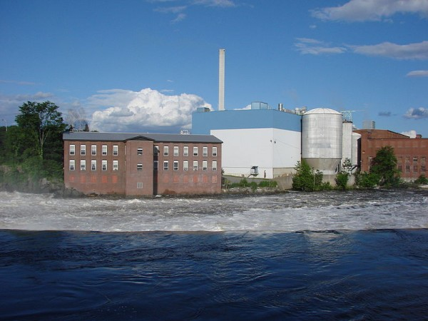 UPM's Madison paper mill