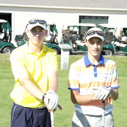 Bangor High golfers proud of reaching fundraising goal after completing 100 holes