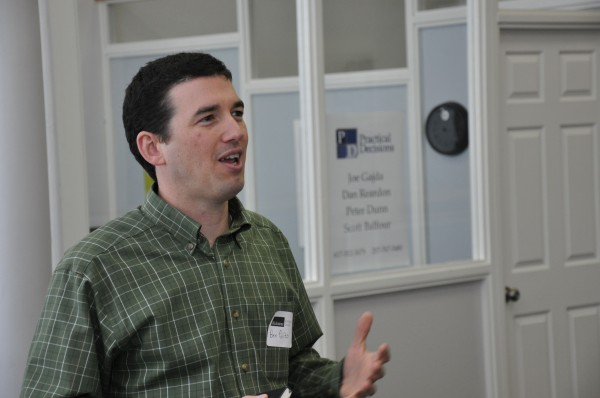 Ben Polito, co-founder and CEO of Pika Energy in Gorham, moved back to Maine to start his wind energy company, and says the state's &quotentrepreneurial ecosystem&quot has already helped him in that endeavor.