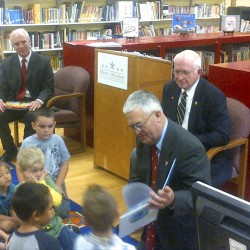 Retired military generals visit Bangor to urge support for Obama's universal preschool plan