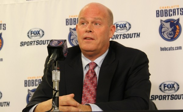 Steve Clifford addresses the media after being named the new head coach of the Charlotte Bobcats on May 29, in Charlotte, N.C.