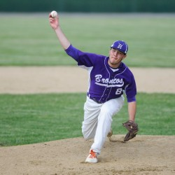 Seventh-inning rally lifts unbeaten Hampden past Brewer