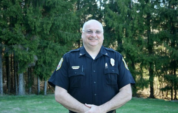 Baileyville Police Chief Bob Fitzsimmons