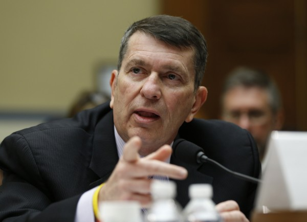 Faris Fink, commissioner of the IRS small business and self-employed division, testifies at a House Oversight and Government reform hearing on Capitol Hill in Washington, June 6, 2013