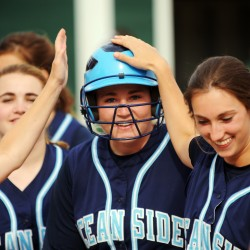 Offensive onsalught carries Oceanside past Gardiner for Class B softball crown