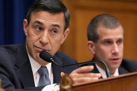 House Oversight and Government Reform Committee Chairman Darrell Issa leads a hearing Benghazi, Libya, on Capitol Hill in May.