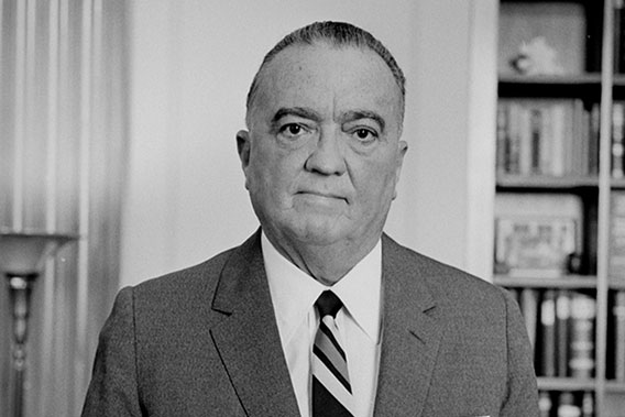 J. Edgar Hoover in 1961. The FBI director oversaw a controversial domestic spying program called COINTELPRO.