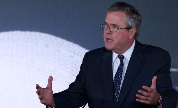 Former Florida Gov. Jeb Bush speaks at the Faith & Freedom Coalition conference, June 14, 2013 in Washington, DC.