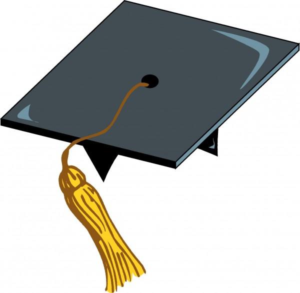 Cliff Blair illustration of graduation cap.