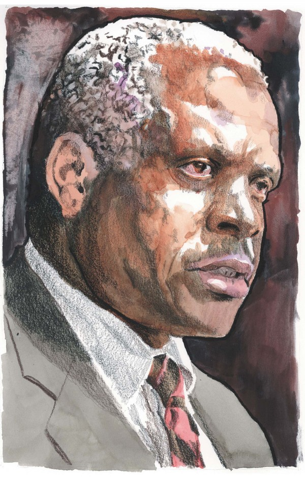 Portrait of Supreme Court Justice Clarence Thomas.