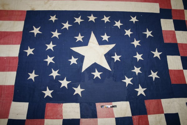 The Belfast Historical Society & Museum invites the public to a Flag Day celebration to be held 4-7 p.m., June 14, at the Abbott Room, Belfast Free Library, 106 High St. The 1864 Belfast Civil War Flag Quilt, sewn 149 years ago by the Ladies Aid Society of First Church, will be displayed for the first time since undergoing conservation. The Friendship Sampler Quilters have created a replica of the 1864 quilt and invite those attending the program to add a few stitches of their own. The program is free and open to the public.