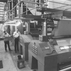 The Bangor Daily News production plant in Hampden opened in 1989.