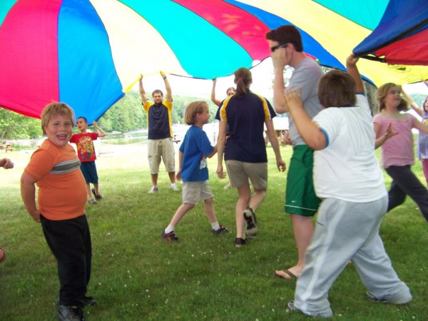 Opening day of summer day camp at Camp CaPella was on Monday, June 24.