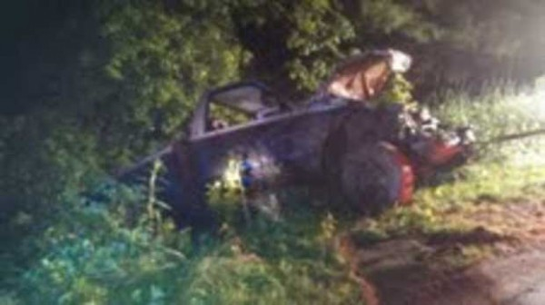 A 15-year-old New Sharon boy is listed in stable condition at a Portland hospital after the pickup truck he was a passenger in went off Weeks Mills Road early Monday in New Sharon. Driver Adam King, 20, of Newfoundland, Canada was arrested on a felony charge of operating under the influence, Franklin County Lt. David Rackliffe said Monday.