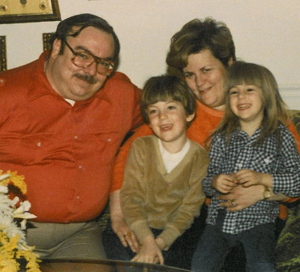 The Ornstein family in the early 1980s.