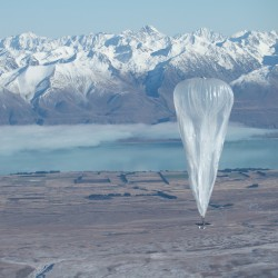 Look, up in the sky! Is that a Google Wi-Fi balloon?