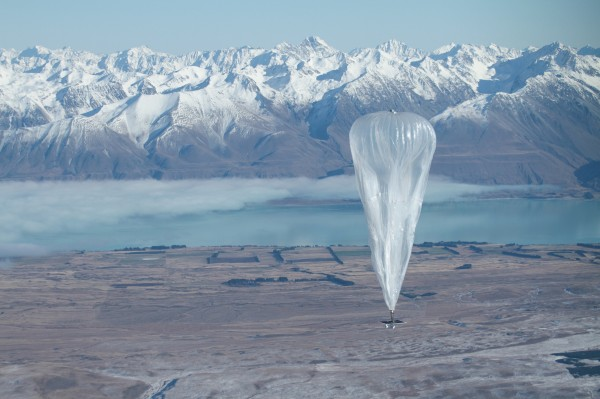 Google started a pilot program in June 2013 in the Canterbury area of New Zealand with 50 Wi-Fi testers trying to connect to 30 airborne balloons. Project Loon balloons use super-pressure envelopes, meaning the volume of the balloon remains constant, like a mylar party balloon, allowing them to stay afloat much longer than other types of balloons.