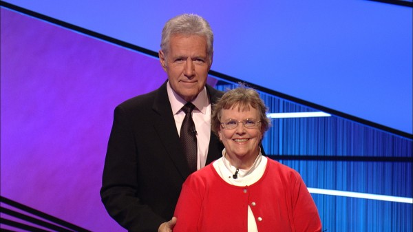 Kathy Nitschke of Greenbush appeared on &quotJeopardy!&quot with host Alex Trebek on Wednesday, June 5, 2013.